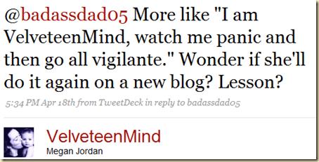 Twitter - Megan Jordan- @badassdad05