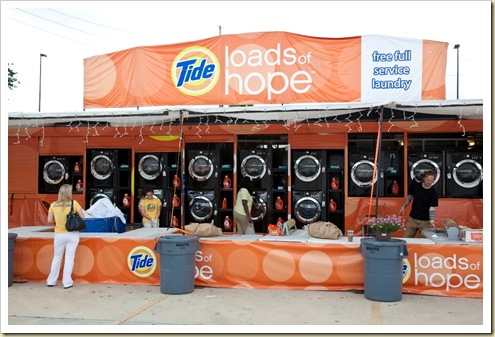 Tide Loads of Hope Laundry Truck
