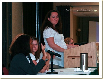 Megan Pregnant Keynote Moderate Type-A Mom 2009