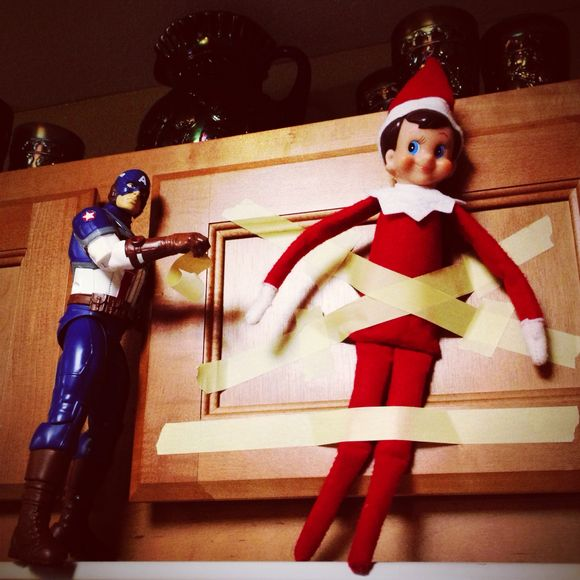 Tell Me Again How You Think the Elf on the Shelf is Creepy