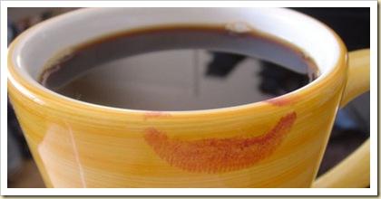 coffee-cup-orange-lipstick