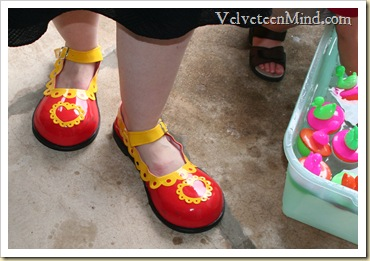Megan Clown Shoes