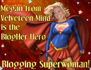 Megan is superwoman