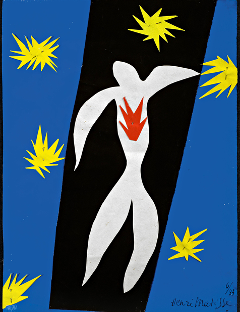Henri Matisse: The Fall of Icarus