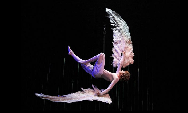 Varekai Cirque Du Soleil : Icarus falling