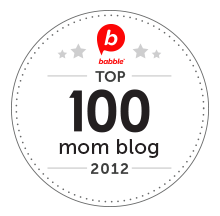 Babble Top 100 Mom Blog 2012